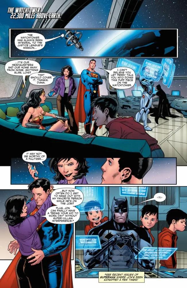 Lois Lane, Wonder Woman, Justice League #22