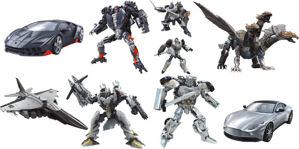 Latest 'Transformers: The Last Knight' Toys Reveal New Characters, Old Favorites