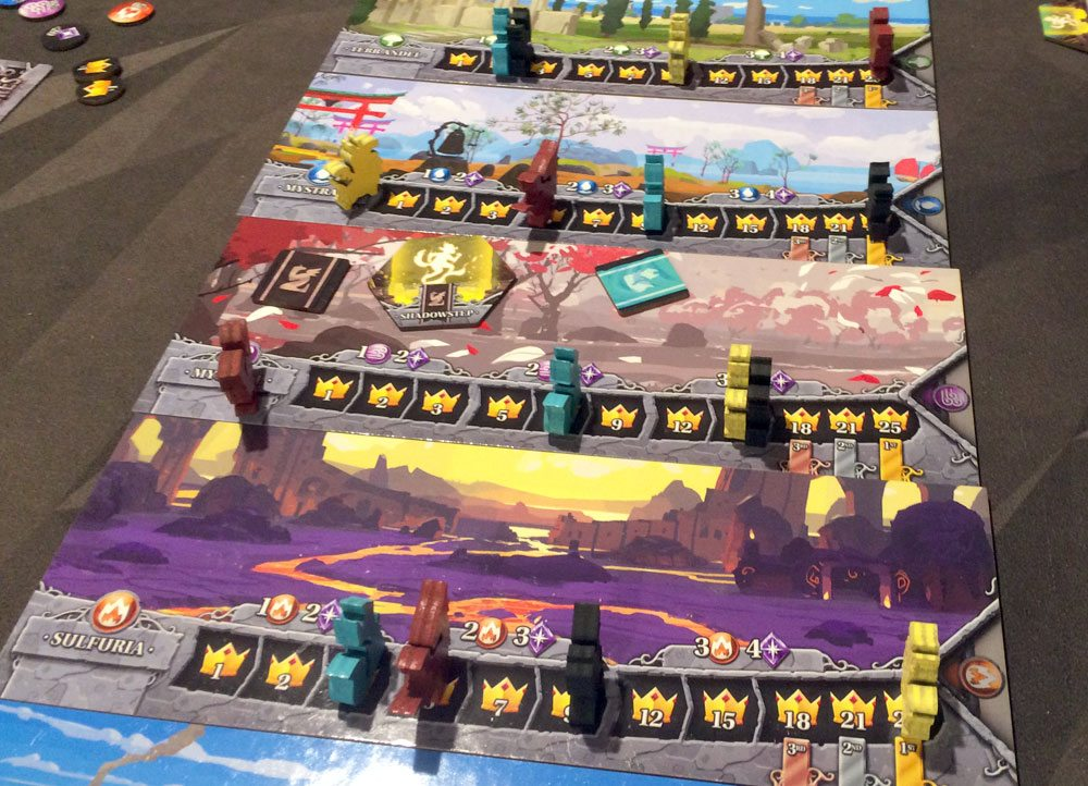 Legendary Creatures 4-player game