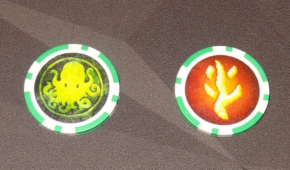Lovecraft Letter sanity tokens