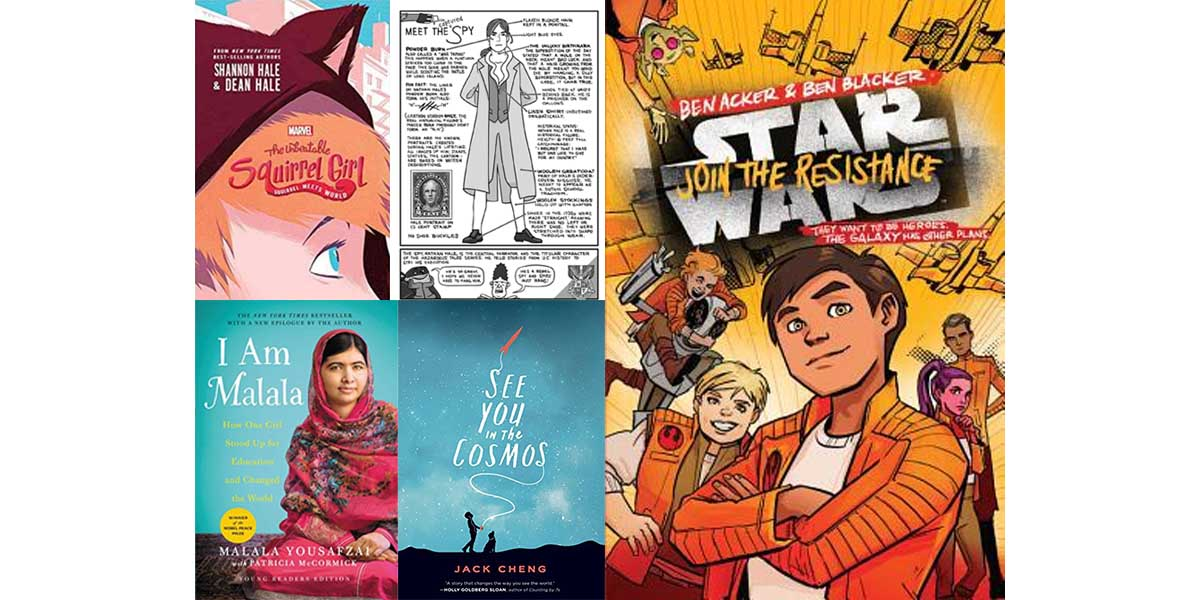 Middle School Picks  Images: From the Publishers