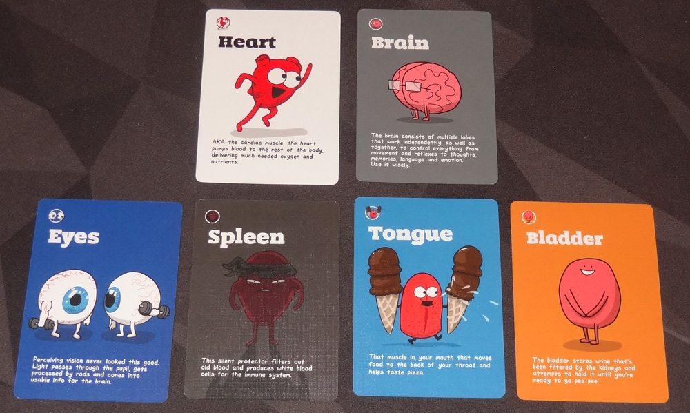 OrganATTACK organ cards