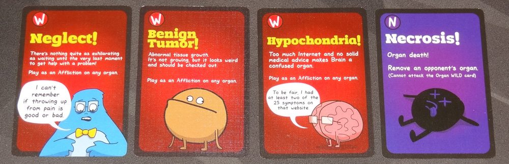 OrganATTACK Wild attack cards