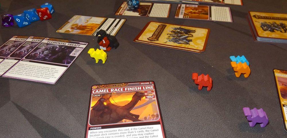 PACG Mummy's Mask camel race finish line