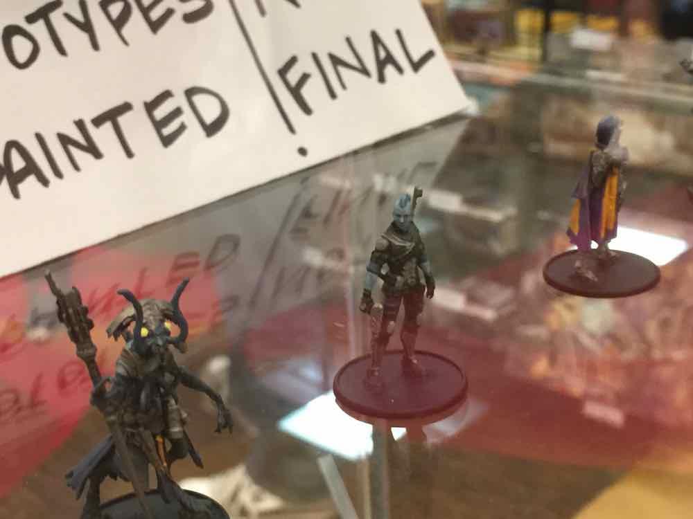 Prototype Starfinder Miniatures