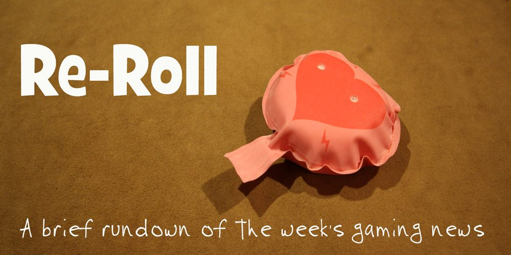 Re-Roll: This Week's Tabletop Game News for Week 38 — Sept 16 – 22, 2017