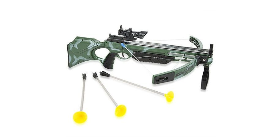 GeekDad Daily Deal: The Real Action Crossbow Set