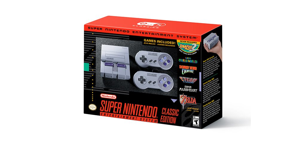 Nintendo Confirms SNES Classic for September Release