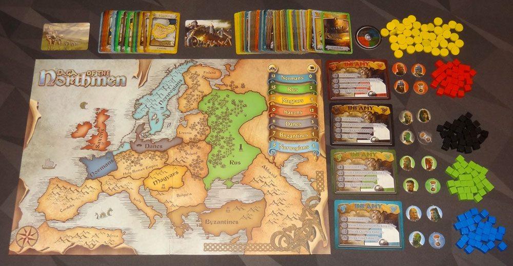 Saga of the Northmen components