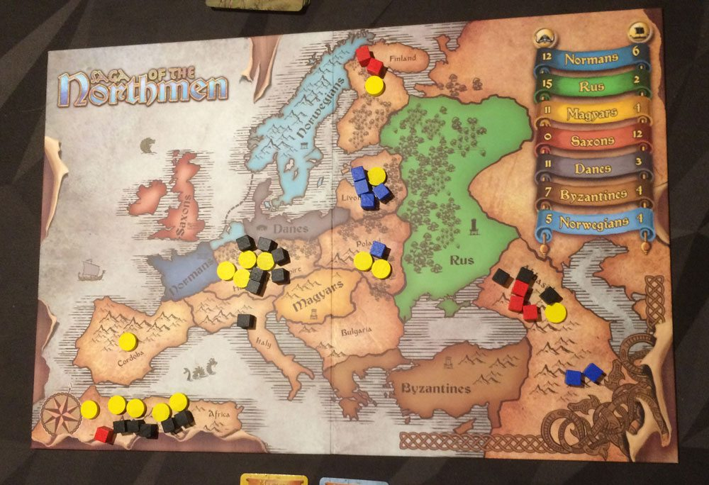 Saga of the Northmen marching phase
