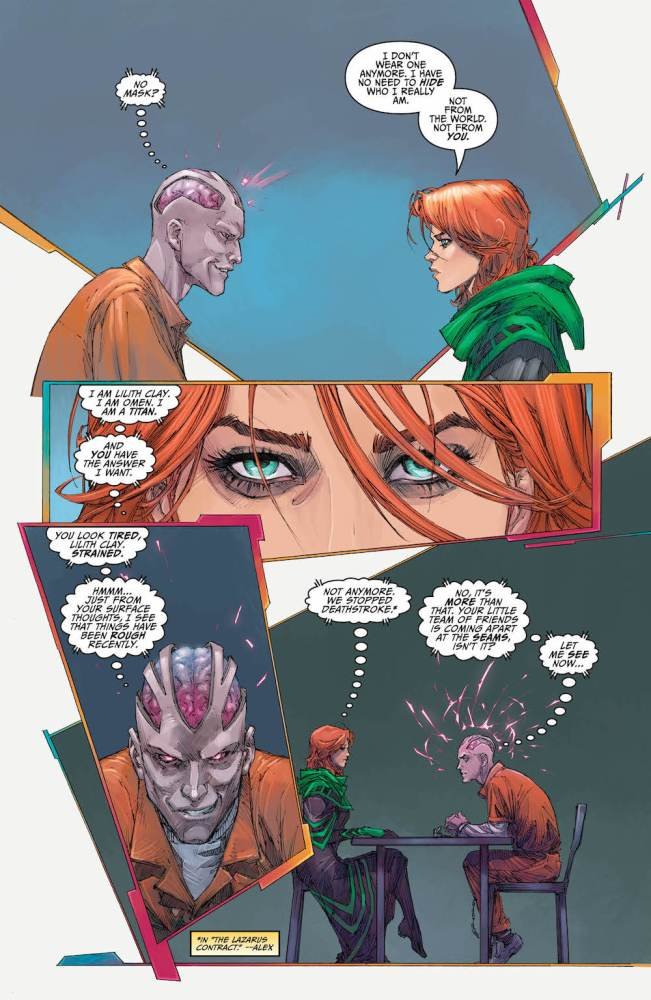 Titans #12, Omen, Psimon