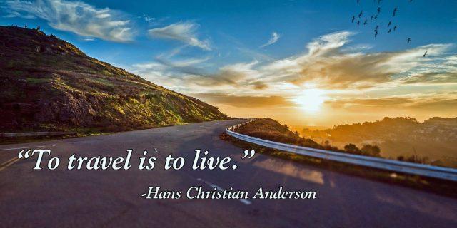 Travel Is To Live  Image: Dakster Sullivan