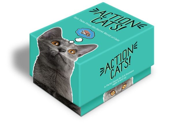 Action Cats! box