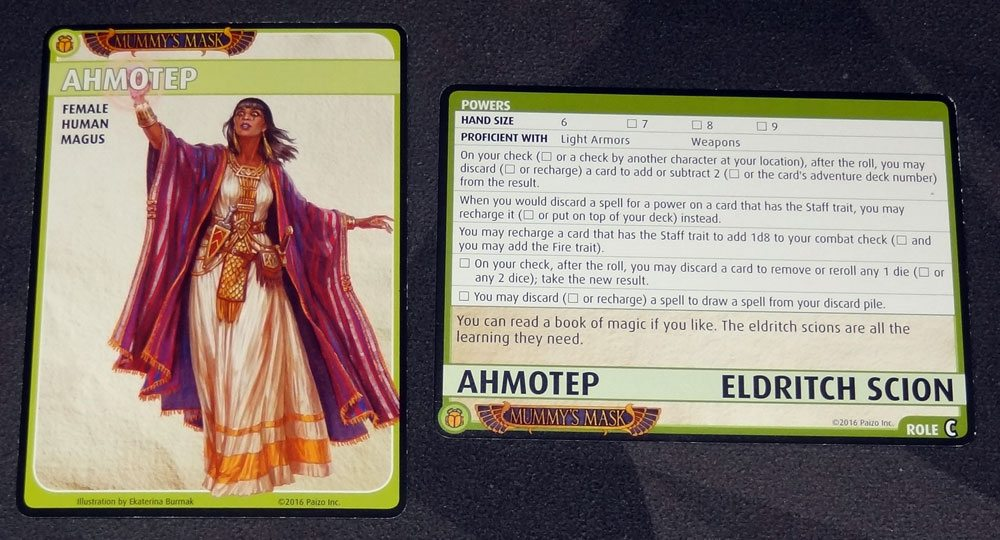Ahmotep: Eldritch Scion