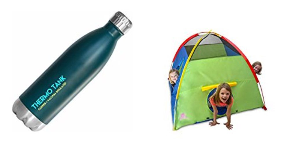Geek Daily Deals for July 20, 2017: Save on the Thermo Tank Water Bottle; Kids Indoor/Outdoor Play Tent