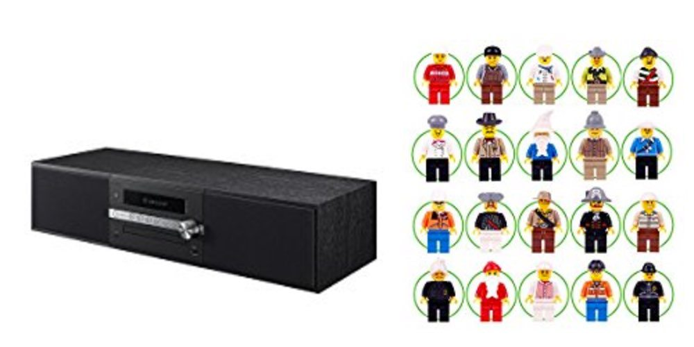 Geek Daily Deals for July 22, 2017: Get a Pioneer Mini-Stereo System for $120; Variety Pack of Minifigs $13