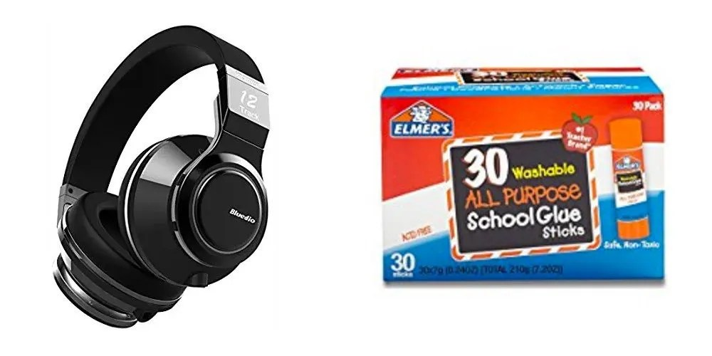 Geek Daily Deals 072417 bluedio bluetooth headphones elmers glue sticks