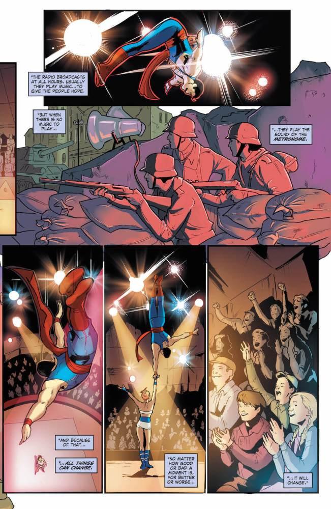 DC Bombshells #30, Superman, Power Girl