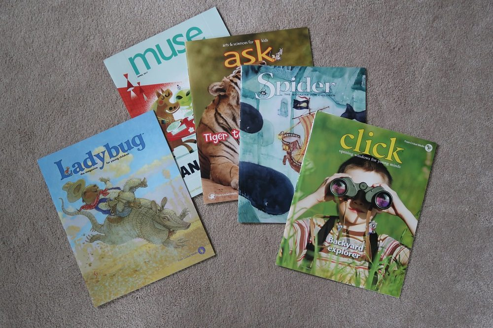 Keeping Tech in Check: Go Old School with Cricket Magazines