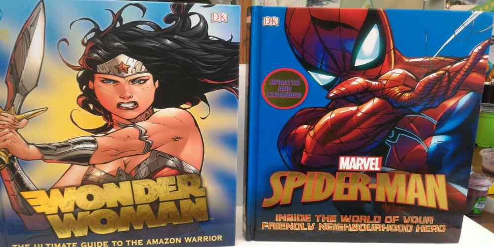 DK's 'Wonder Woman' and 'Spider-Man' Reviewed