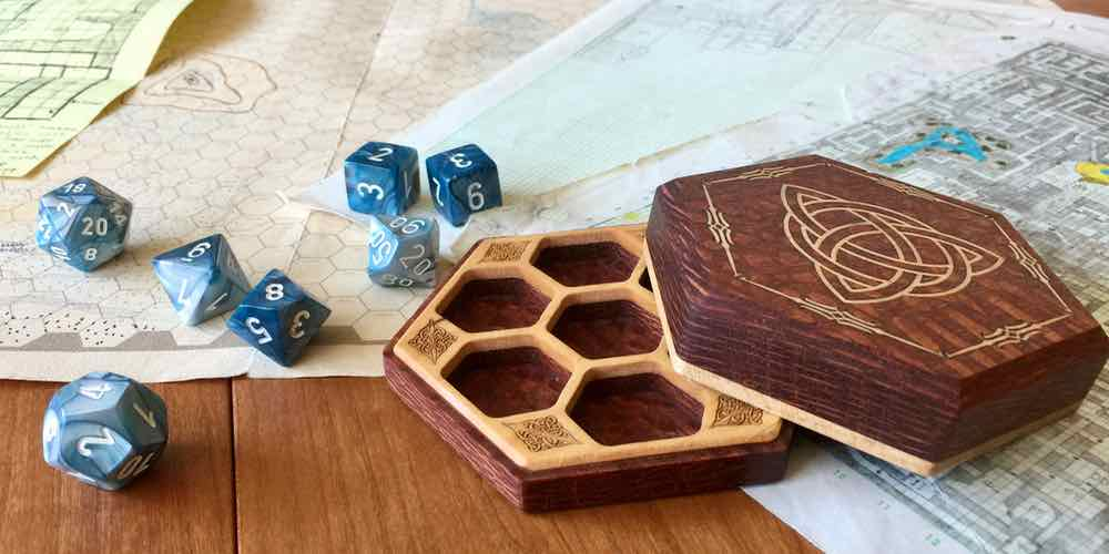 Kickstarter Alert! Pamper Your Dice With Elderwood Academy's Hex Chest Remastered