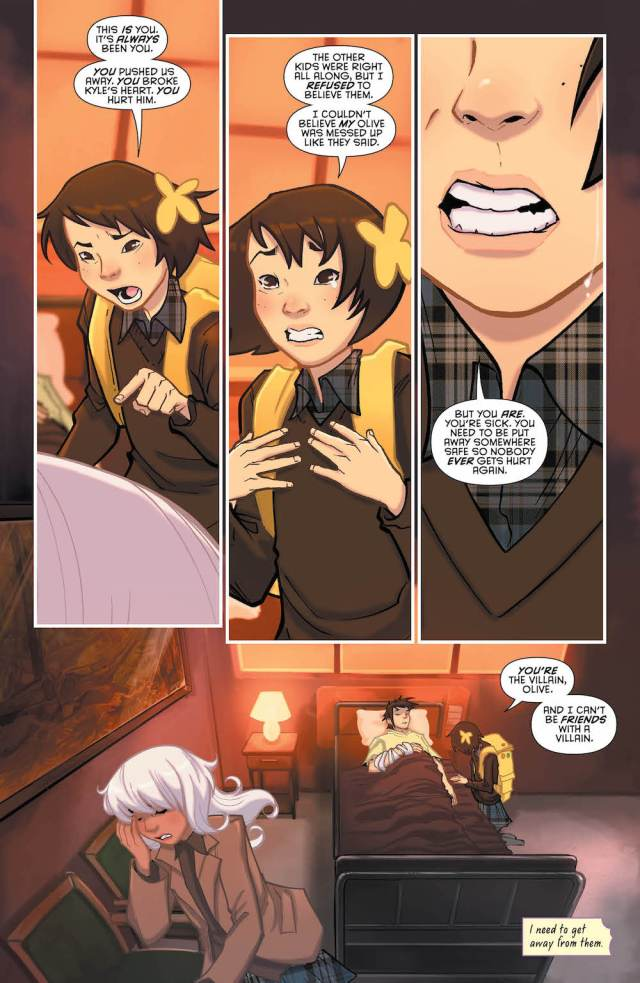 Gotham Academy: Second Semester #11, Olive and Maps