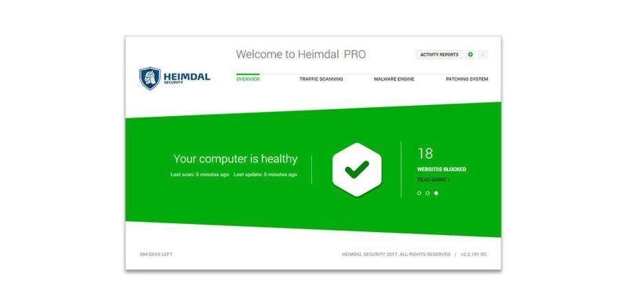 GeekDad Daily Deal: Heimdal Security Pro