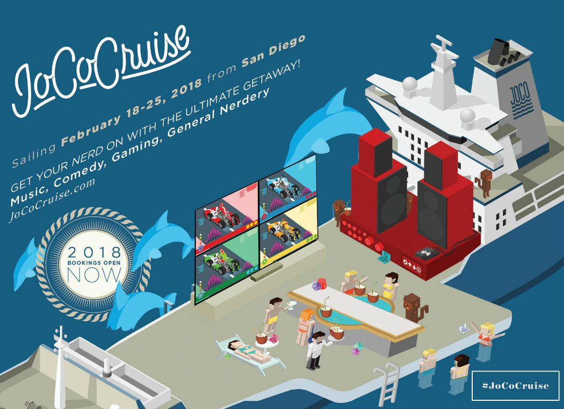 JoCo Cruise 2018 Guest Lineup Announced
