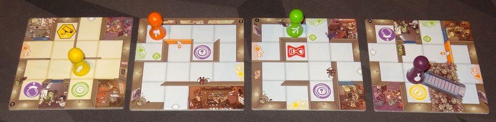 Magic Maze ability tiles