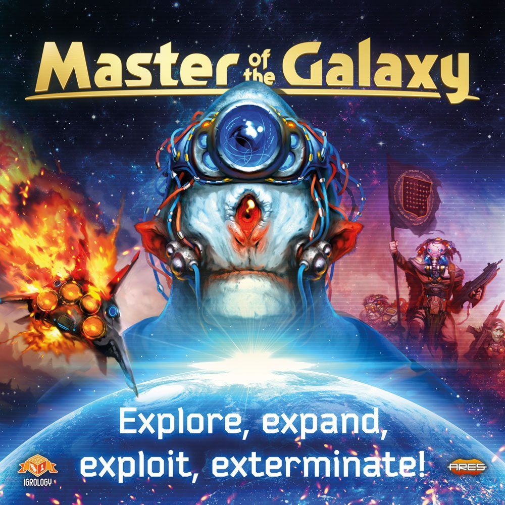 Master of the Galaxy box cover