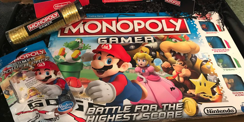 Monopoly Gamer Turns Classic Game Into Mario Kart Geekdad
