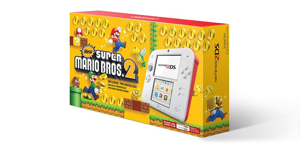 Nintendo 2DS New Super Mario Bros. 2 Bundle Coming in August