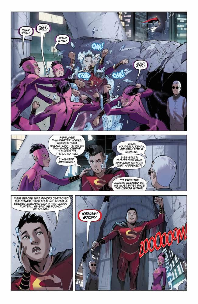 Kenan Kong, New Super-Man, Justice League of China
