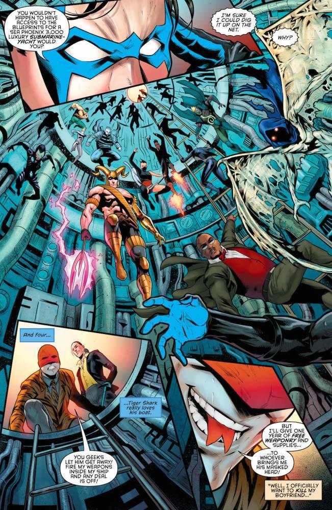 Nightwing 2017 series, Seeley