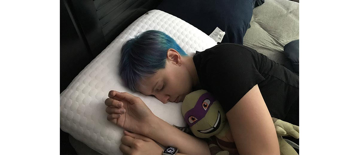 Nap time with Donny  Image: Dakster Sullivan