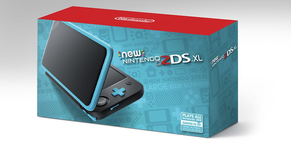 New Nintendo 2DS XL packaging