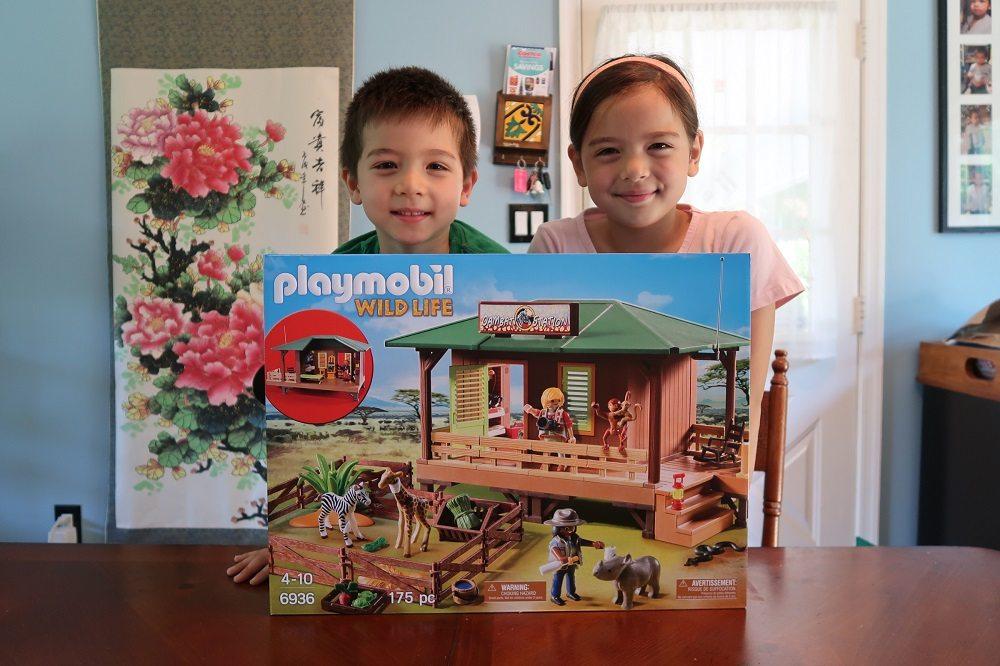 Playmobil Playroom: Ranger Station with Animal Area