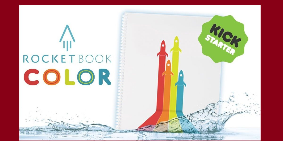 Kickstarter for the Rocketbook Color Notebook: The Internet of Crayons