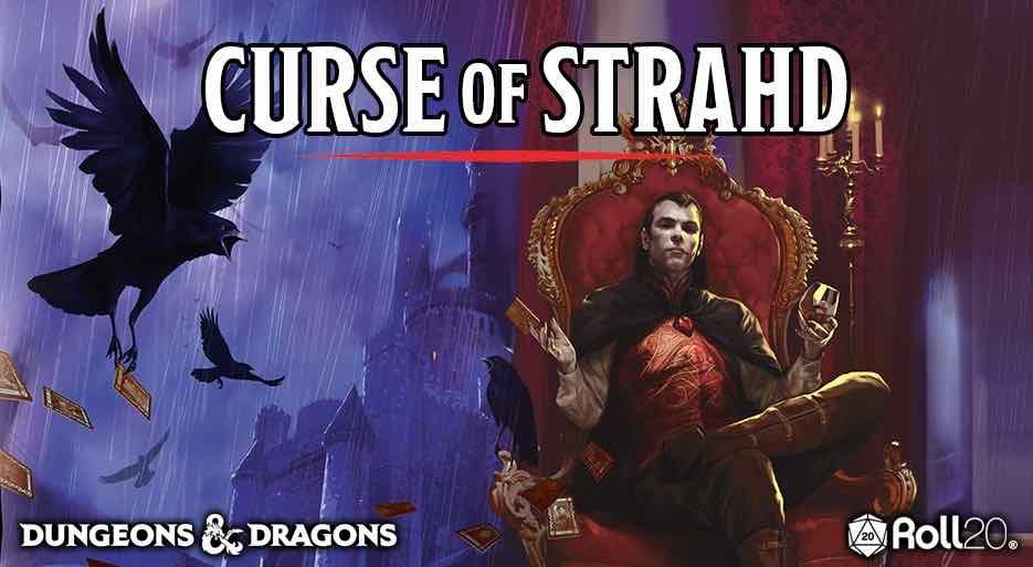 Curse of Strahd Roll20 Banner