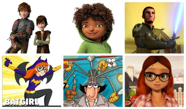 Smart Kind Characters in children's media