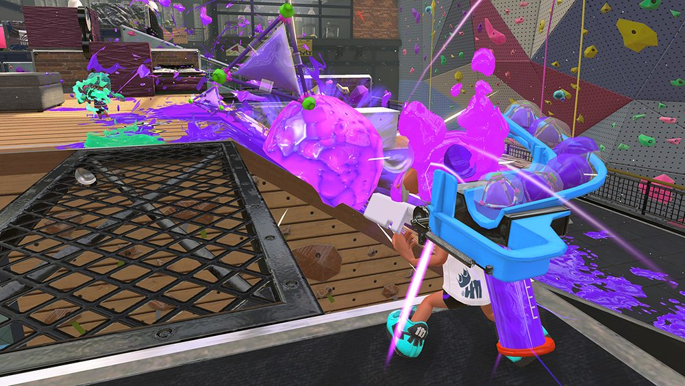 Switch Splatoon 2 Bomb Launcher