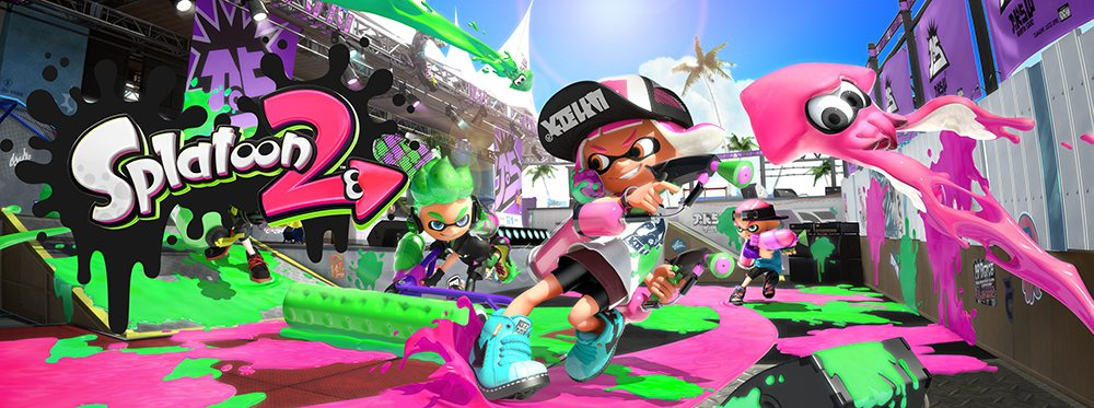 Switch Splatoon 2 illustration