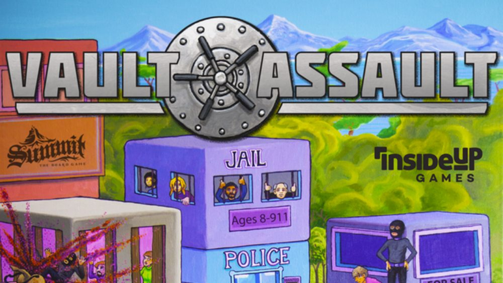 Kickstarter Tabletop Alert: 'Vault Assault'