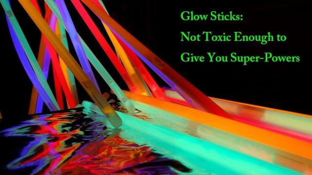glow sticks toxic