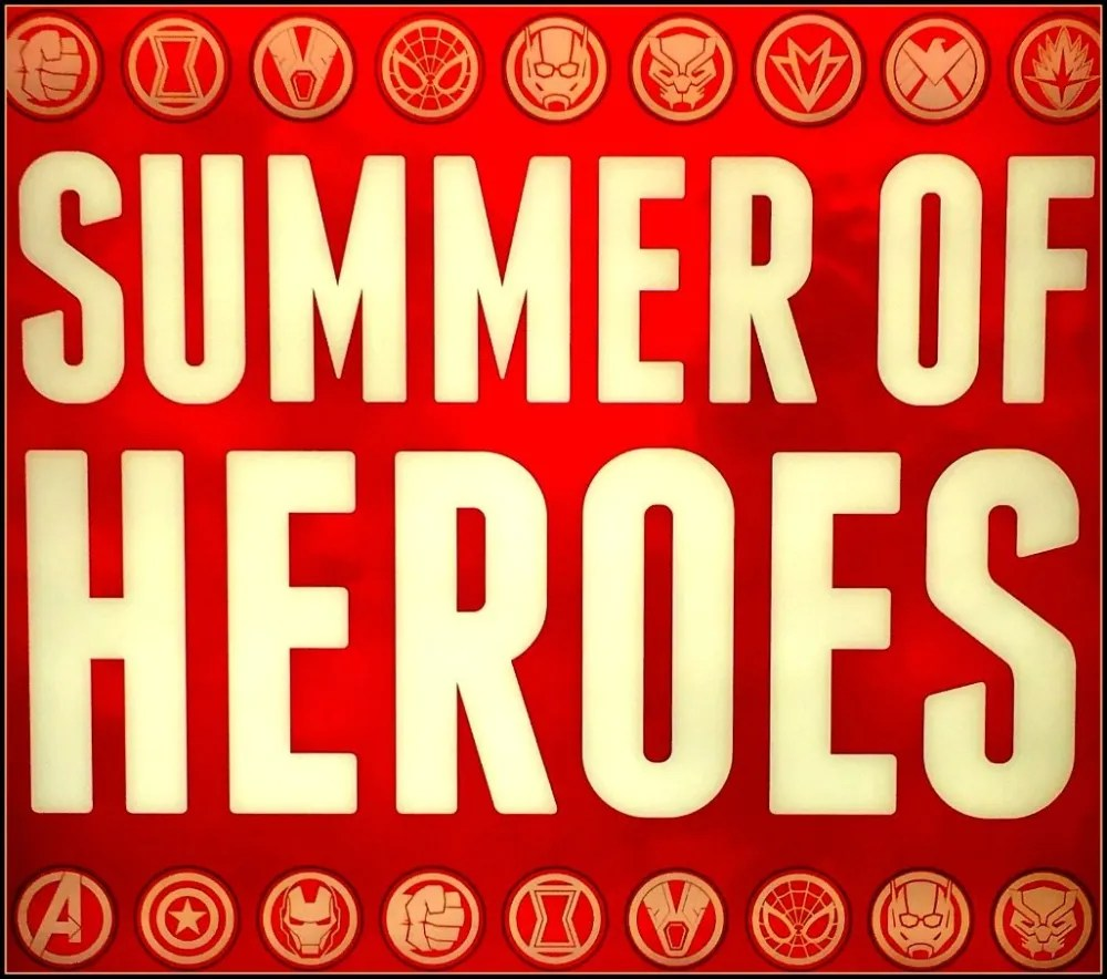 Summer of Heroes Disneyland