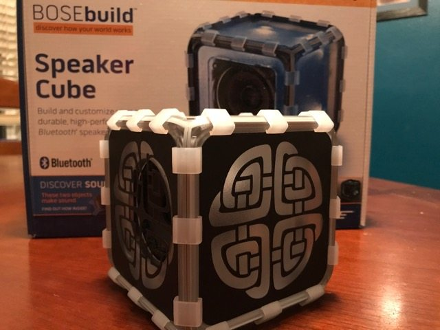 BOSEbuild Bluetooth Speaker completed build
