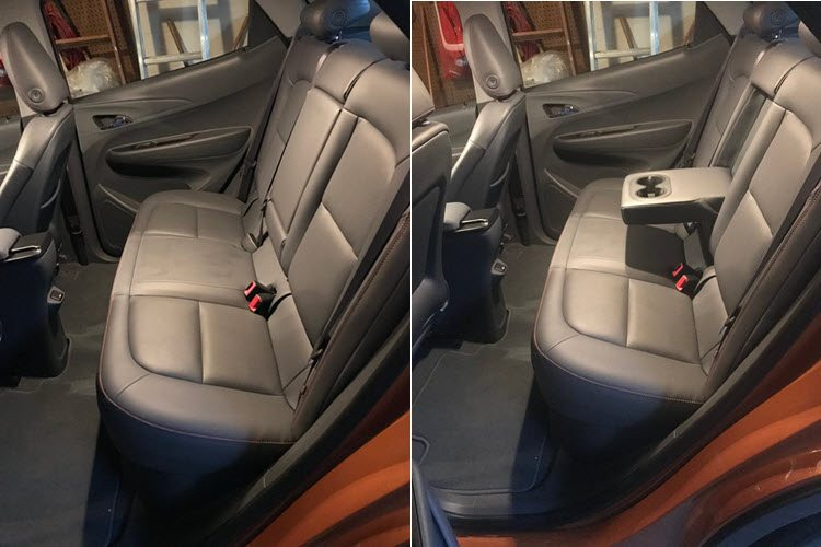 2017 Chevy Bolt Backseat