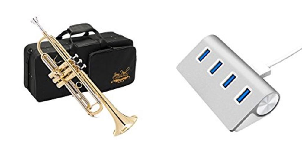 Geek Daily Deals for August 8, 2017: 60% Off Band Instruments; Sleek 4-Port USB Hub for $10