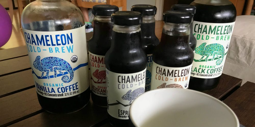 Celebrate the Last Days of Summer With Chameleon Cold Brew Coffee