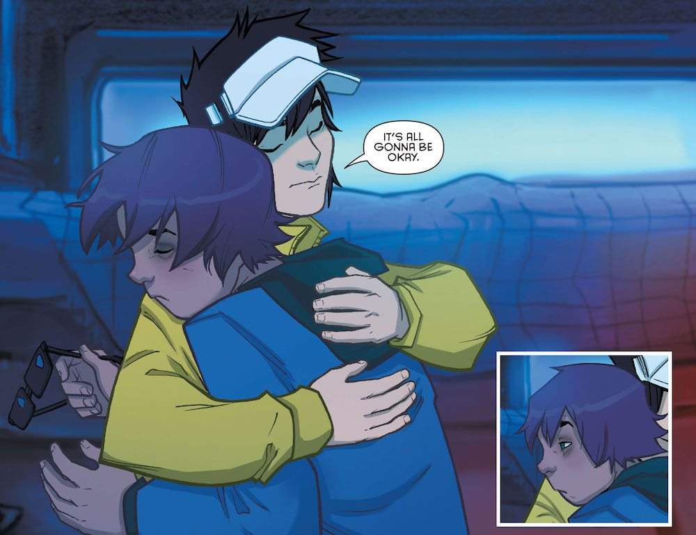 Colton, from Gotham Academy